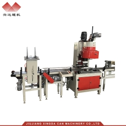 Zd-68 large garden six roller automatic can sealing machine